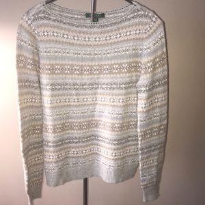 Lauren Ralph Lauren Sweater wool cashmere blend M